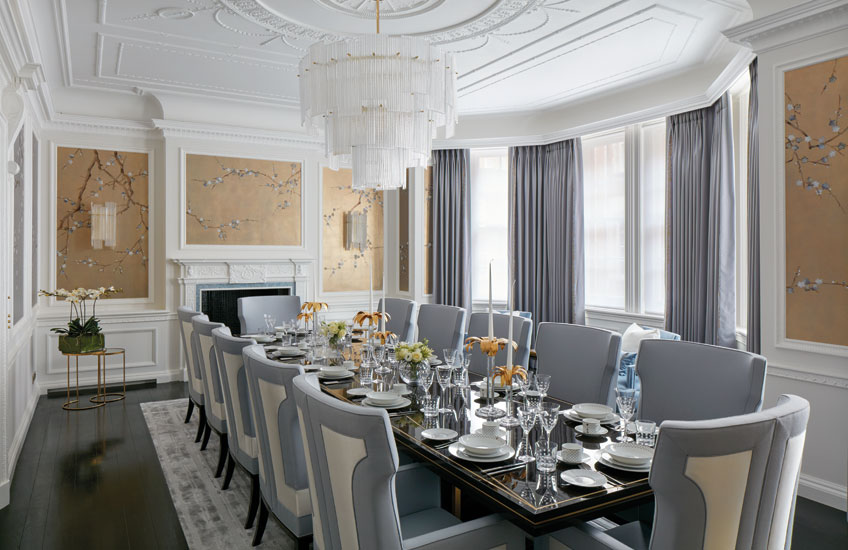 5 Minutes with Katharine Pooley – Luxury Dining Room – LuxDeco.com Style Guide