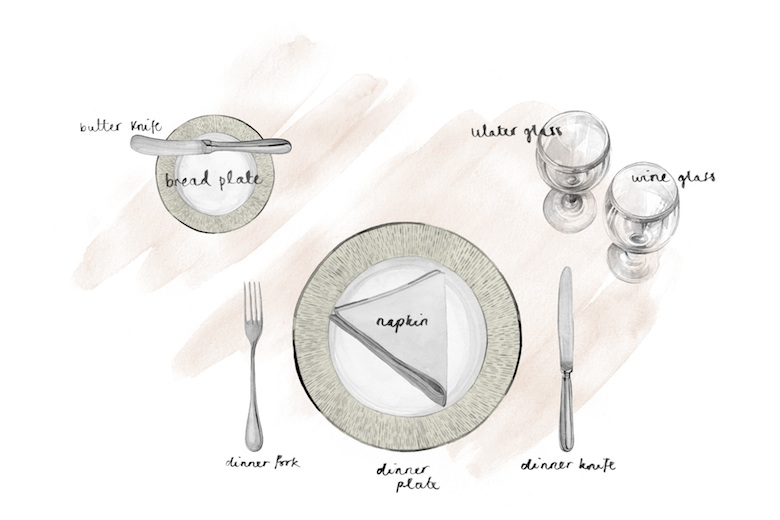 How to set a table for lunch - dining table setting ideas - LuxDeco.com