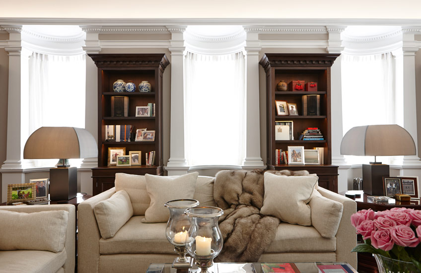 Traditional Interiors – Traditional Living Room – MPD London Interiors – Read more in the LuxDeco Style Guide