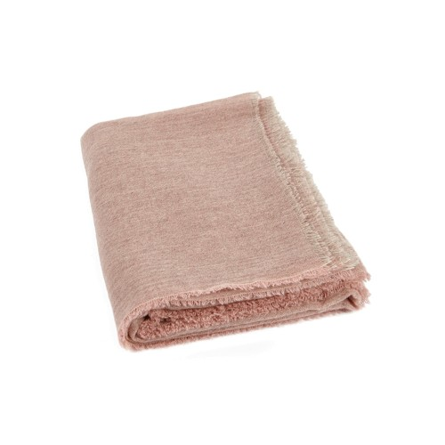 Esra Cashmere Throw - Pink