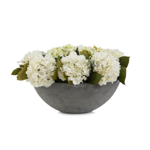 White Hydrangeas Arrangement