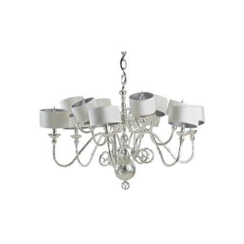 Melting Amsterdam 12 Shade Chandelier - Dutch Silver