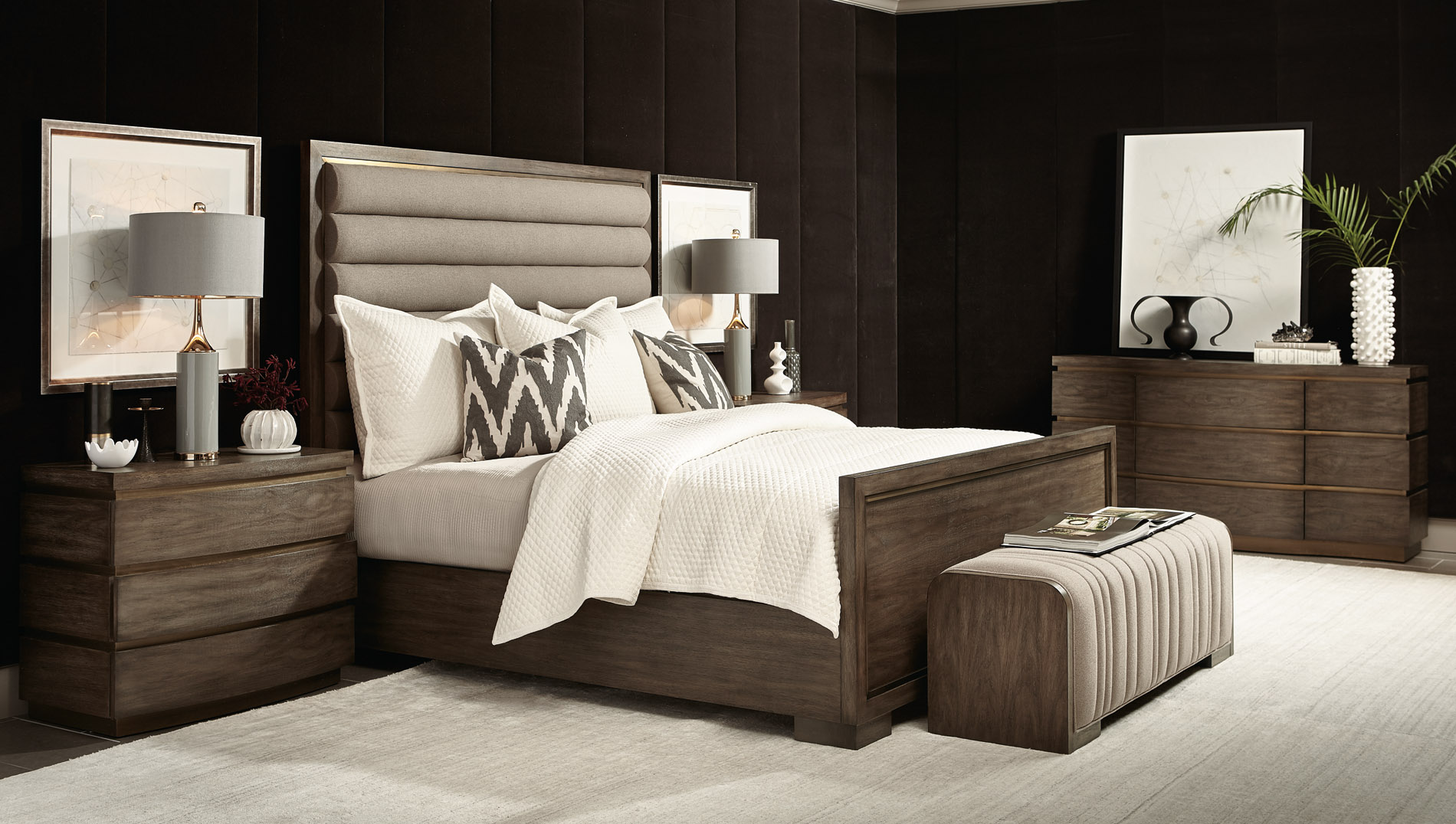 Bernhardt Profile Collection – Shop now at LuxDeco.com
