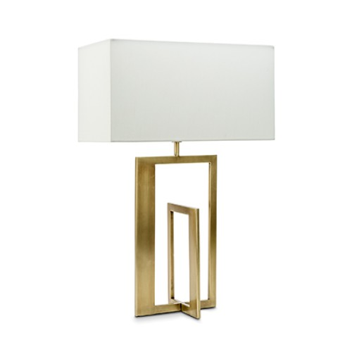 Kenley Antique Brass Table Lamp