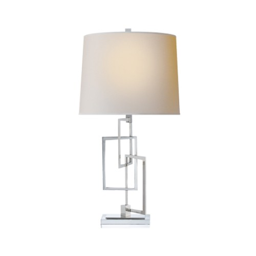 Cooper Table Lamp in Polished Nickel
