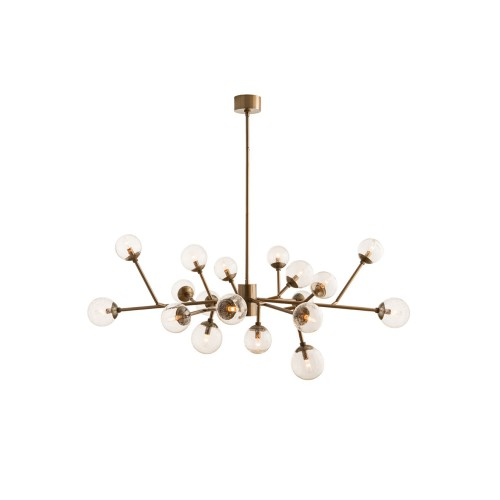 Dallas Chandelier - Brass