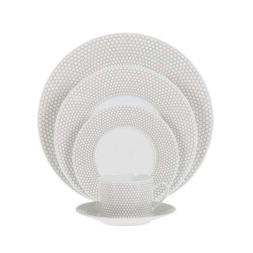 MADISON 6 Porcelain Five Piece Place Setting