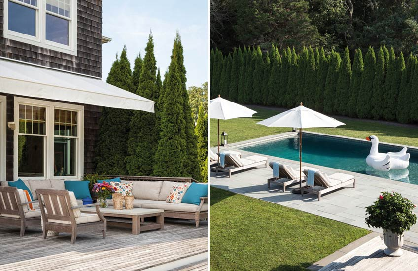 Hamptons Pool, Outdoor Space Ideas | Bella Mancini | Read more in The Luxurist | LuxDeco.com