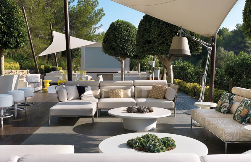 Ibiza Villa, Outdoor Space Ideas | Spinocchia Freund | Read more in The Luxurist | LuxDeco.com