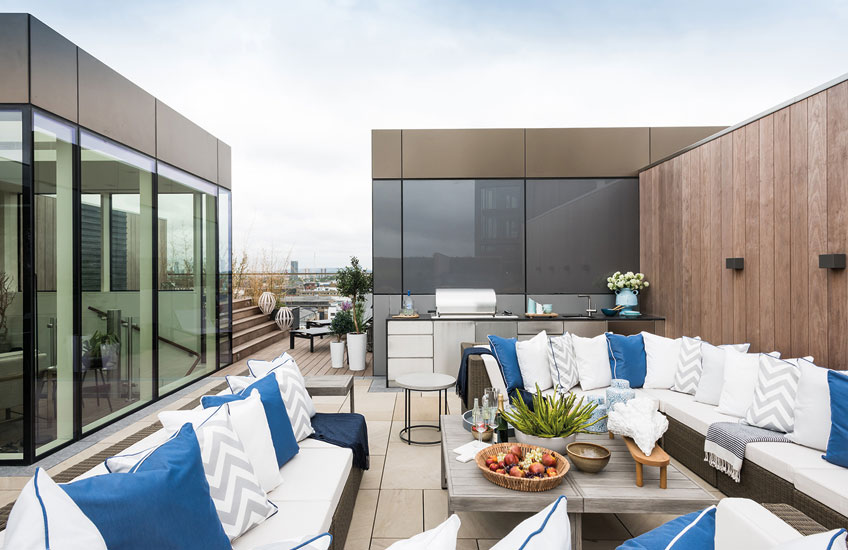 London Rooftop Garden, A.LONDON | Read more in The Luxurist | LuxDeco.com