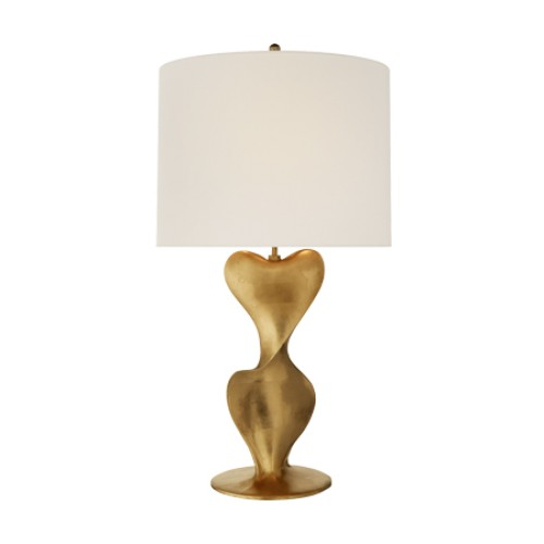 Clausis Large Table Lamp in Gild