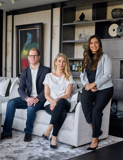 London Interior Designers, Elicyon | Executive Team | Read more in the LuxDeco Style Guide