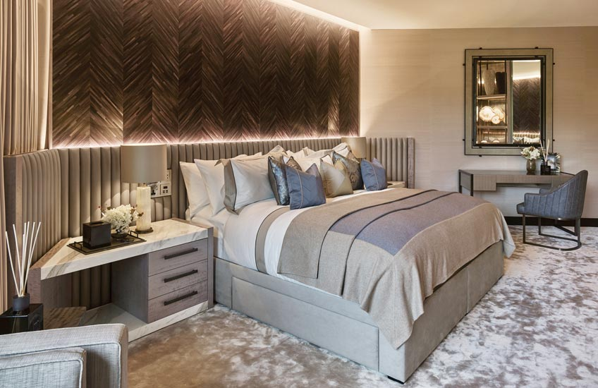 London Interior Designers, Elicyon | Luxury Bedroom Interiors | Read more in the LuxDeco Style Guide