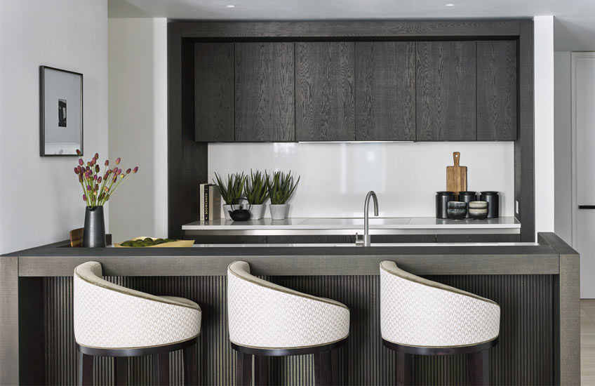 London Interior Designers, Elicyon | Modern Kitchen Interiors | Read more in the LuxDeco Style Guide
