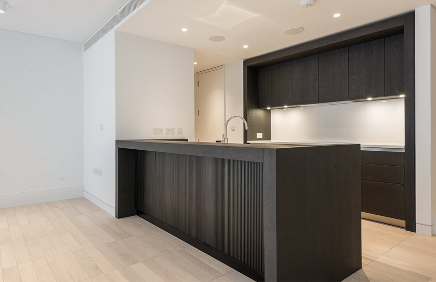 London Interior Designers, Elicyon | Kitchen Before Shot | Read more in the LuxDeco Style Guide