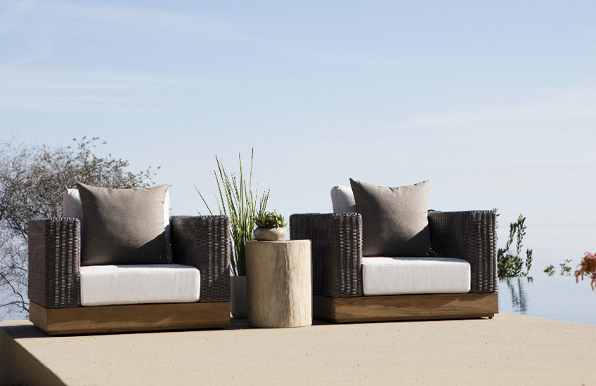 Transform Your Outdoor Space Into A Staycation Resort | Get the Ibiza villa look at LuxDeco.com