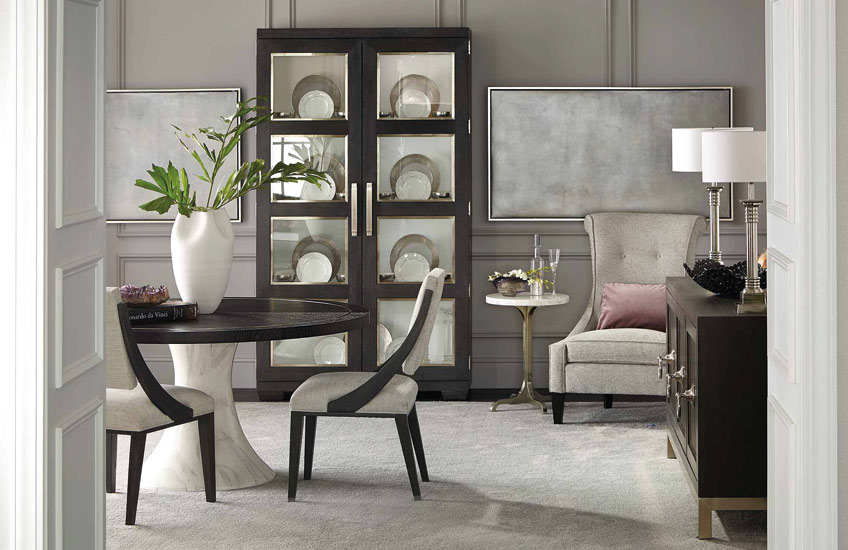 Decorage Dining Room | Behind The Brand, Bernhardt | Shop American Furniture at LuxDeco.com