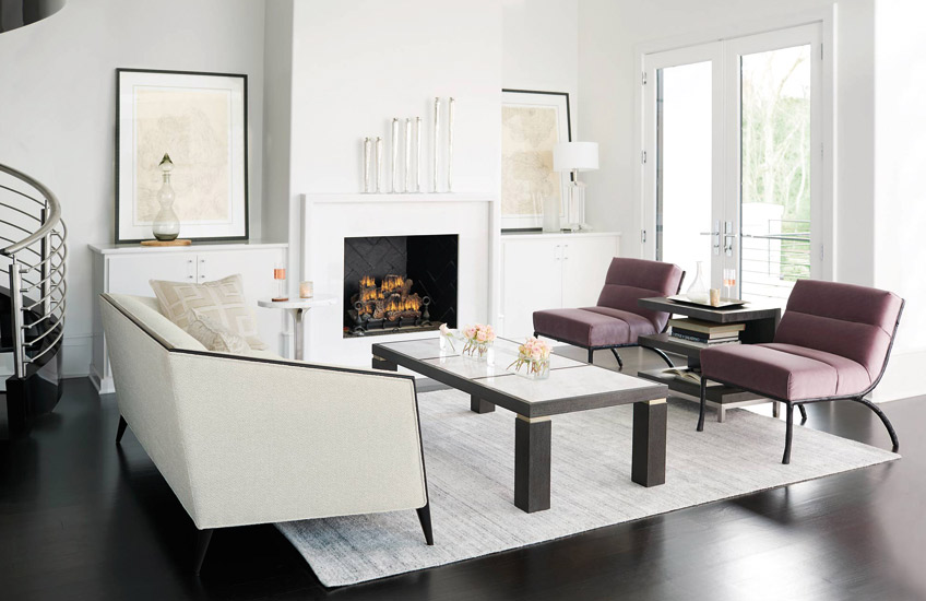 Decorage Living Room | Behind The Brand, Bernhardt | Shop American Furniture at LuxDeco.com
