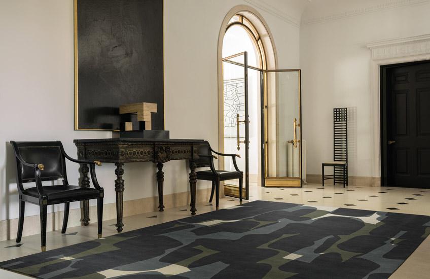Behind The Brand | The Rug Company | Shadow by Alexandra Champalimaud | Shop the brand's luxury rugs at LuxDeco.com