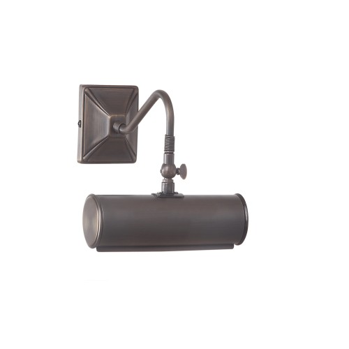 Small Aged Brass Picture Light