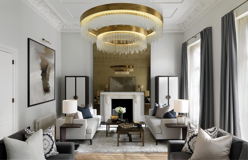 Large Living Room Design Ideas How To Decorate A Large Living Room | Interior by Laura Hammett | Read more  in