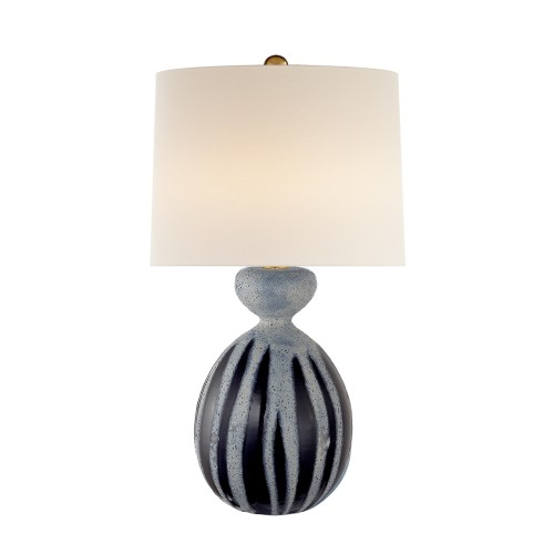Gannet Table Lamp - Drizzled Cobalt