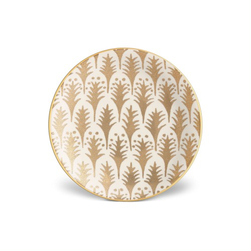 Set of 4 Fortuny Piumette Canape Plates
