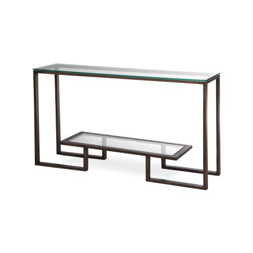 Mayfair Console Table - Antique Bronze