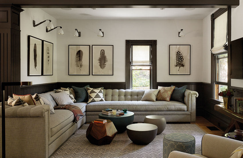 Cosy Living Room Ideas –Jay Jeffers Interiors –Read in the LuxDeco Style Guide