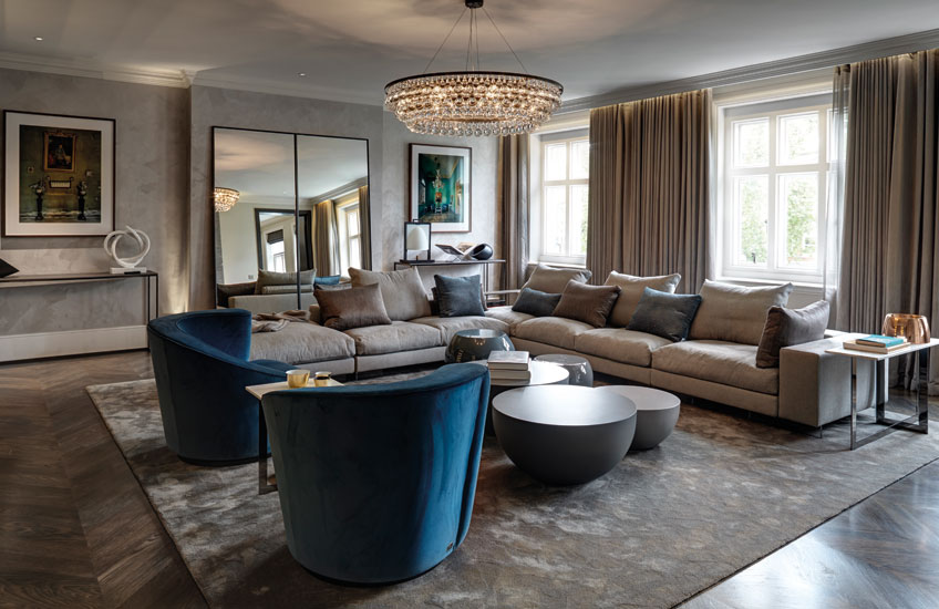 Cosy Living Room Ideas – Staffan Tollgard Interiors – Read in the LuxDeco Style Guide