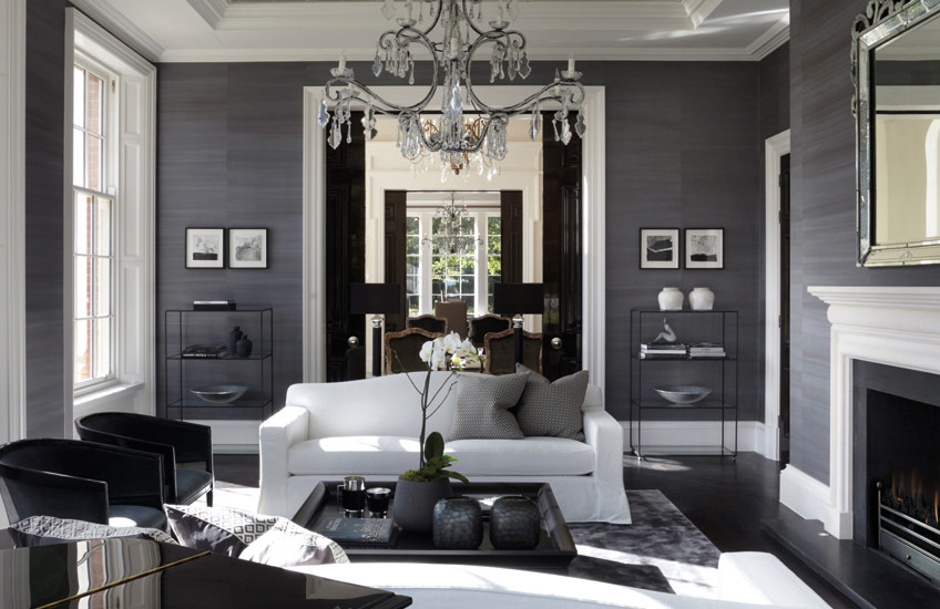 . 15 Grey Living Room Ideas   Grey Lounge Colour Schemes   LuxDeco