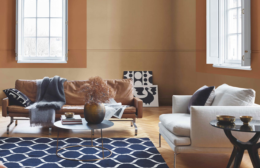 Dulux Colour of the Year | Gold Living Room | Read more in the LuxDeco Style GuideDulux Colour of the Year | Gold Living Room | Read more in the LuxDeco Style Guide