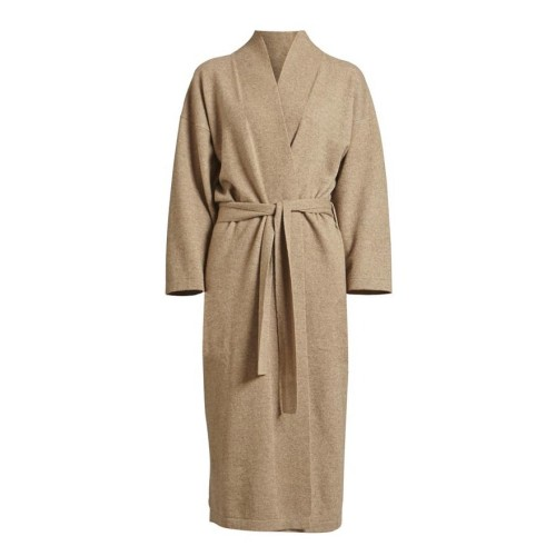 Legere Cashmere Gown - Taupe