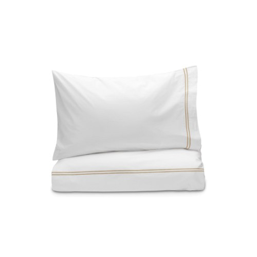 Draycott 2 Row Cord Duvet Cover Set Maple