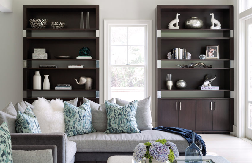 Living Room Storage Furniture Ideas | A-List Interiors | Read more in the LuxDeco.com Style Guide
