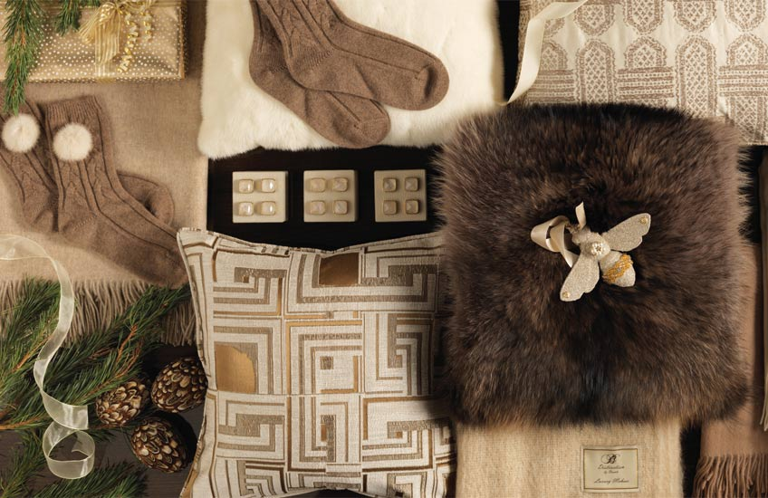uxury Winter Cushions | LuxDeco Christmas Gift Guide | Read more in the LuxDeco Style Guide