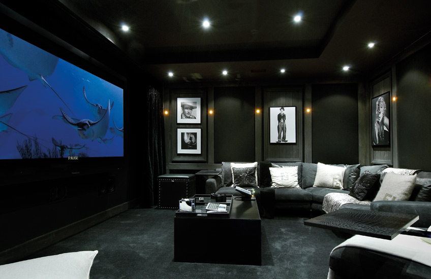 How To Design Your Own Home Cinema Room | Cinema Room by Finchatton | Get the look at LuxDeco.com