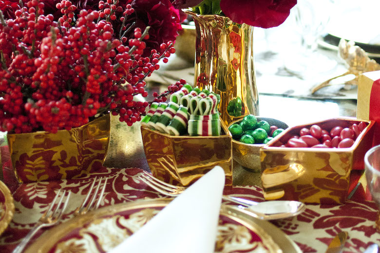 Luxury Christmas Table Decor Ideas – AERIN – LuxDeco.com