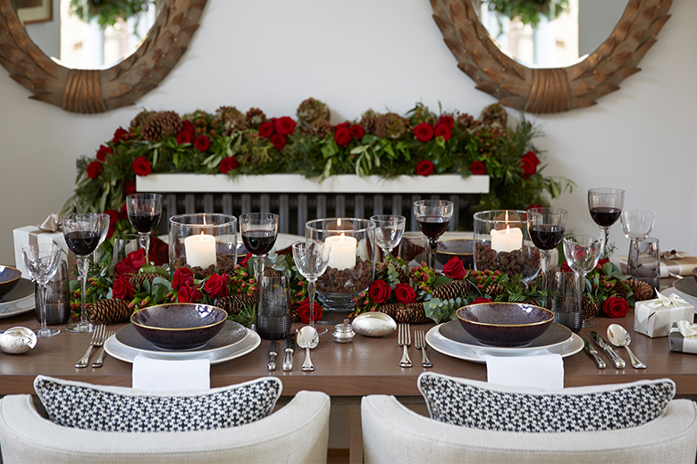 Luxury Christmas Table Decor Ideas – Helen Green Design – LuxDeco.com
