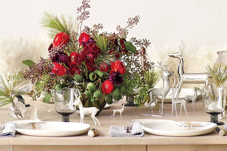 Luxury Christmas Table Decor Ideas – Martha Stewart – LuxDeco.com
