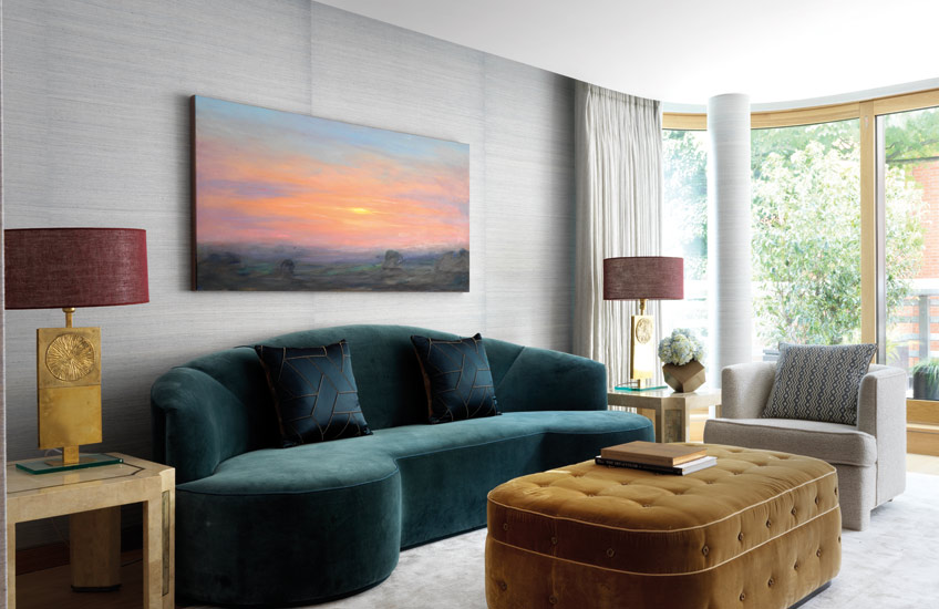 Teal Living Room Ideas | How to Decorate with Teal | LuxDeco.com