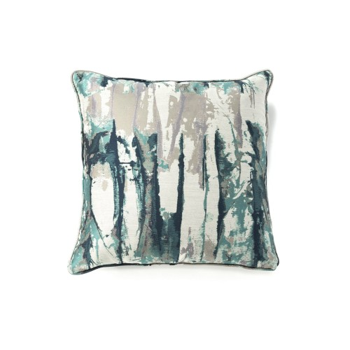 Teal Inkwell Cushion