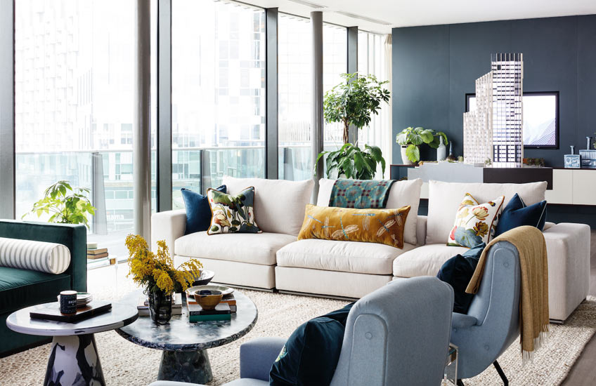 7 Beautiful Contemporary Living Room Design Ideas | LuxDeco.com
