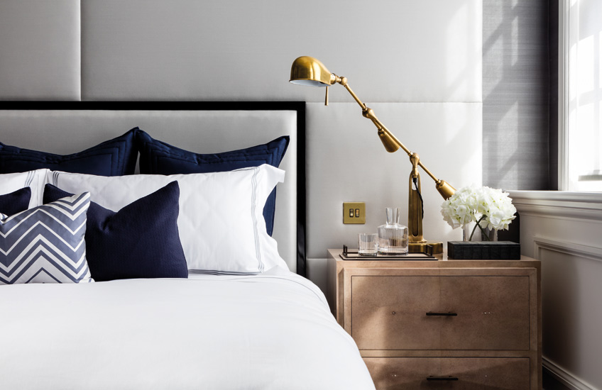New Year, New Home | 8 Home Refresh Ideas for 2019 | Interior by Katharine Pooley | Read more in the LuxDeco.com Style Guide