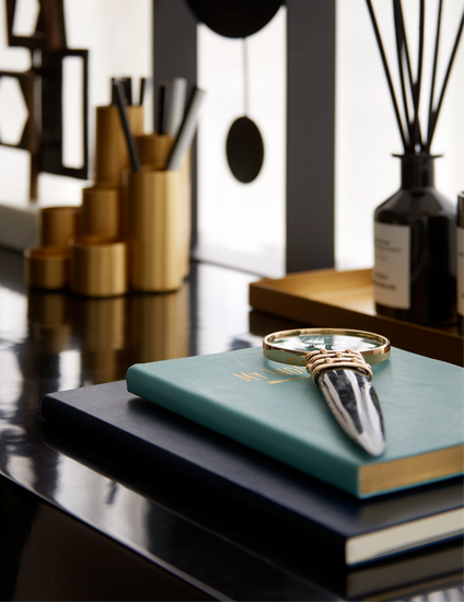 How To Declutter Your Home | Desk Organisation by Elicyon | Read more in the LuxDeco.com Style Guide