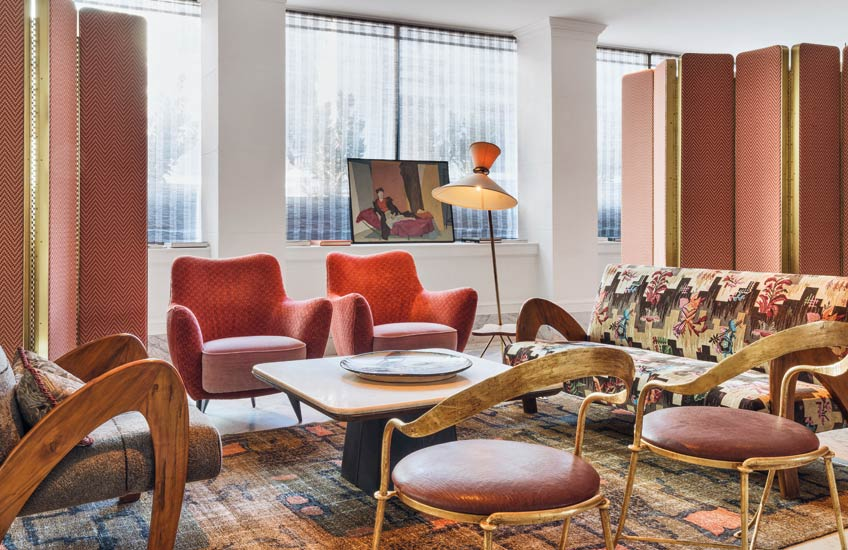 Pantone Colour of the Year 2019 | Living Coral | Proper Hotel | Kelly Wearstler | Read more in the LuxDeco.com Style Guide