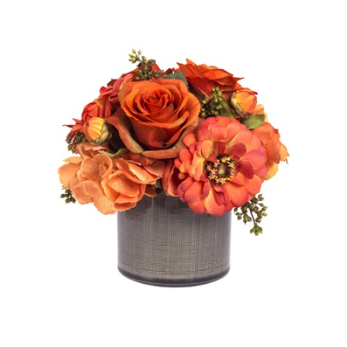 Burnt Orange Floral Arrangement