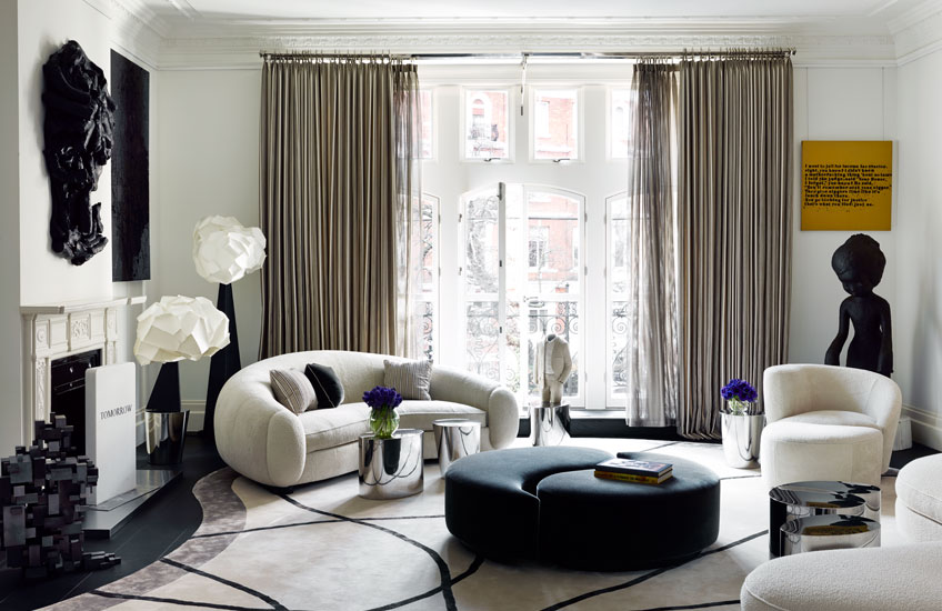 Top Interior Designers 2019 | French Interior Designers | Francois Catroux | Photography by Douglas Friedman | Read more in the LuxDeco.com Style Guide