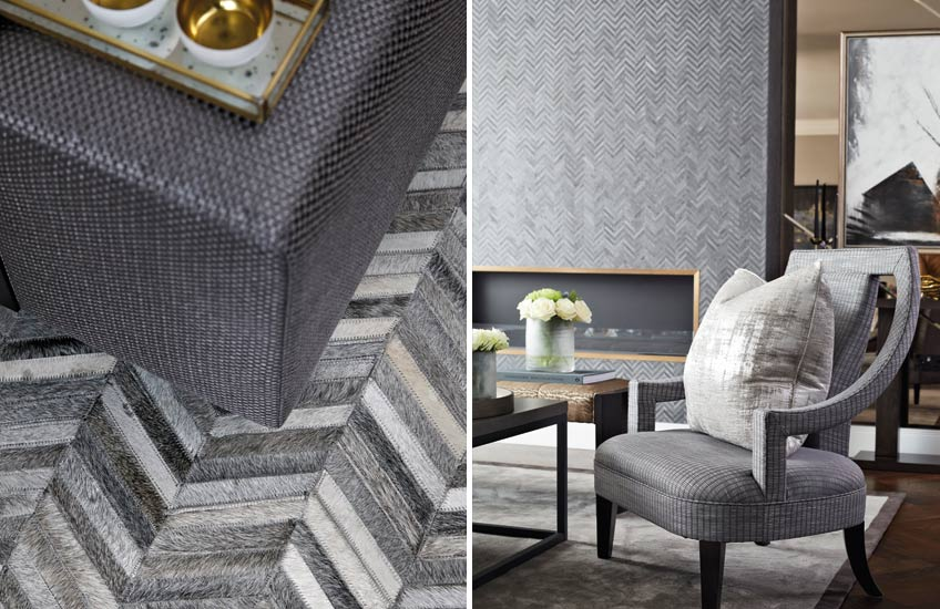 How To Choose The Perfect Rug For Your Living Room _ Bailey London _ Read more in the LuxDeco.com Style Guide