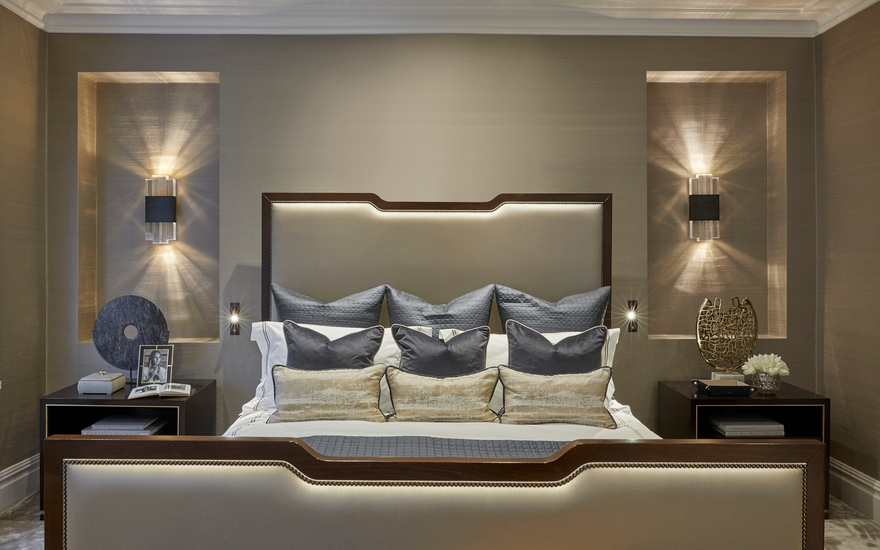Alexander Square Bedroom - LuxDeco Interior Design Project - Interior Design Services - LuxDeco.com Style Guide